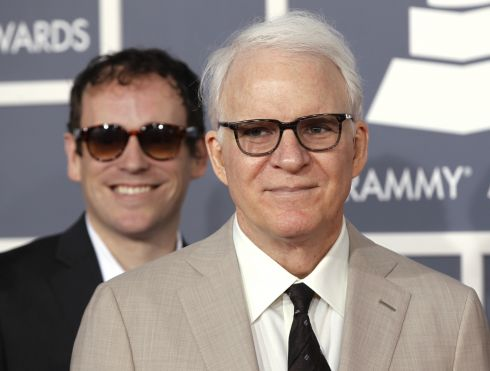 Actor Steve Martin a first-time dad at age 67