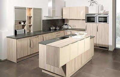 Decoracion de cocinas con madera modernas decoraciones - Cocinas de madera modernas ...
