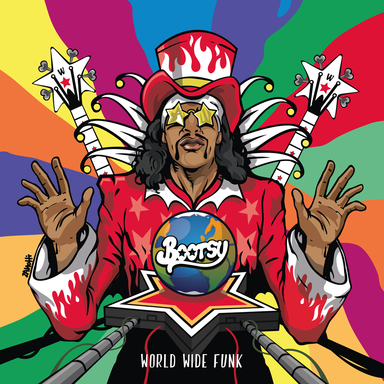 "Bootsy Collins ""World Wide Funk"""