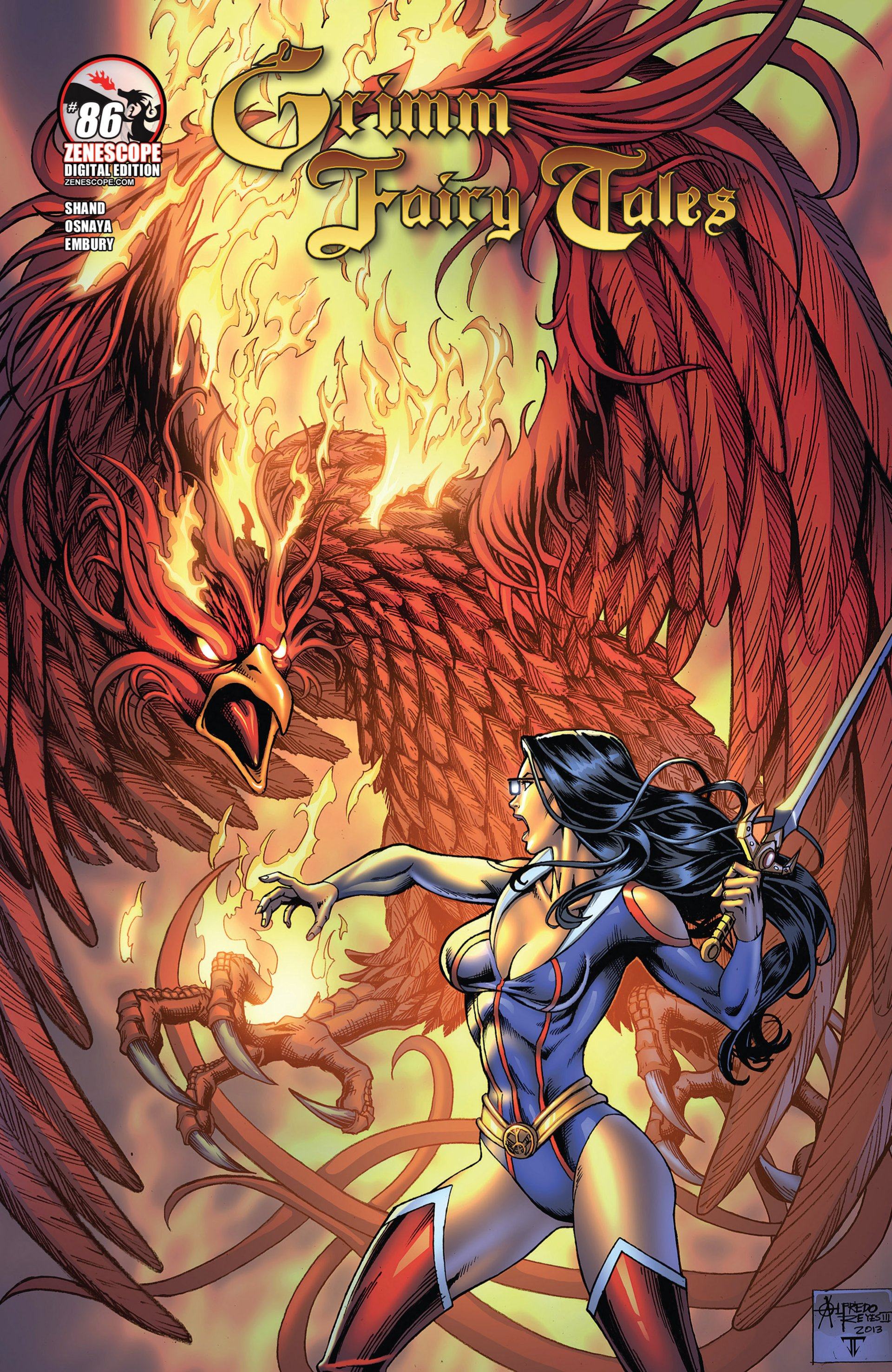 Grimm Fairy Tales (2005) Issue #86 #89 - English 2