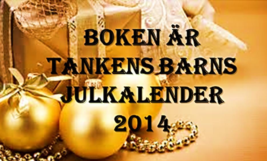 """Julkalender hos """"Boken är tankens barn"""""""