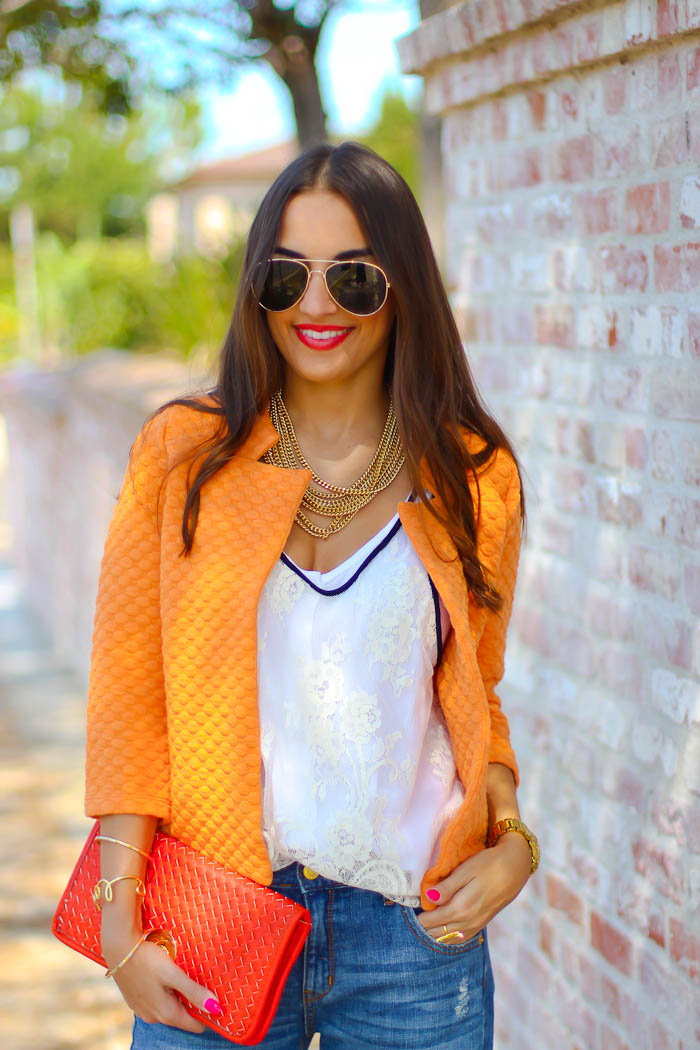 ray ban classic aviator sunglasses, asos quilted jacket