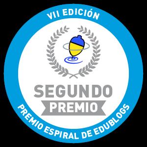 2º PREMIO EN LA VII EDICIÓN DE LOS PREMIOS ESPIRAL EDUBLOGS