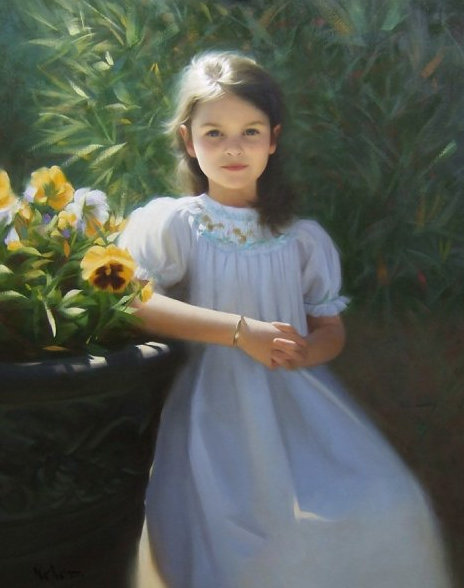 Ryan mellody art free painting lesson from brian neher for Paintings of toddlers