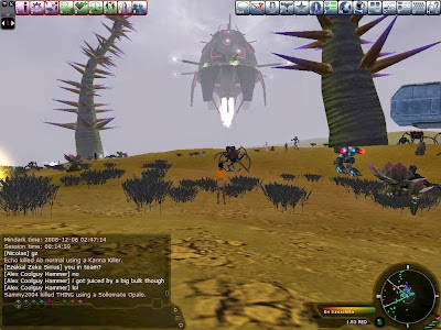 Entropia Universe - Game Interface 2008