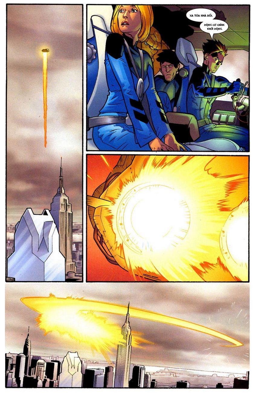 Ultimate Fantastic Four chap 10 - Trang 25