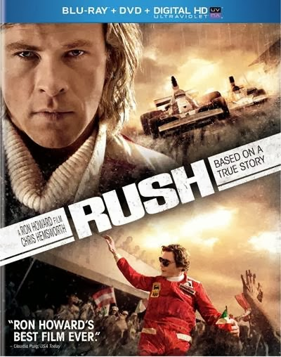 Rush Starring Chris Hemsworth, Daniel Bruhl, Olivia Wilde