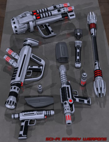 Sci Fi Energy Weapons