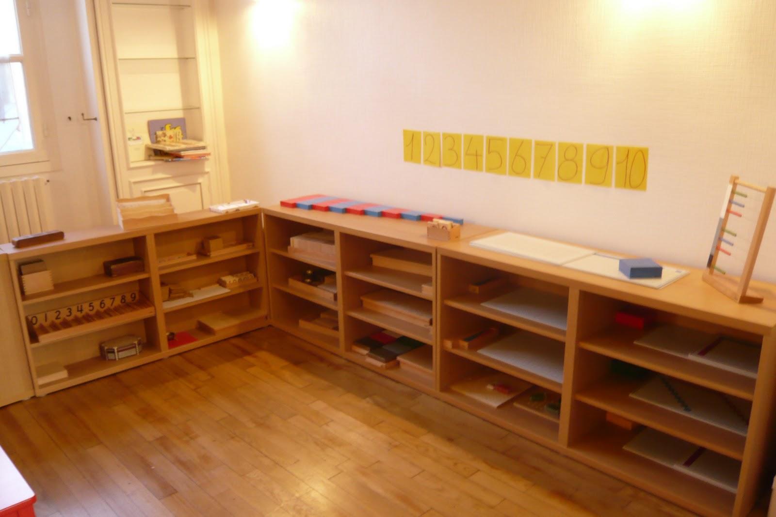 Souvent MamoMans: Visite d'une Ecole Montessori « La maison des enfants du  PT31