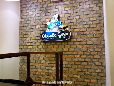 Abuela Goye: Decoração do mezanino da loja do Salvador Shopping