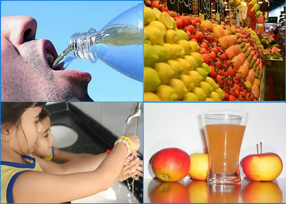 Hidratação, higiene e alimentação saudável, previnem doenças respiratórias