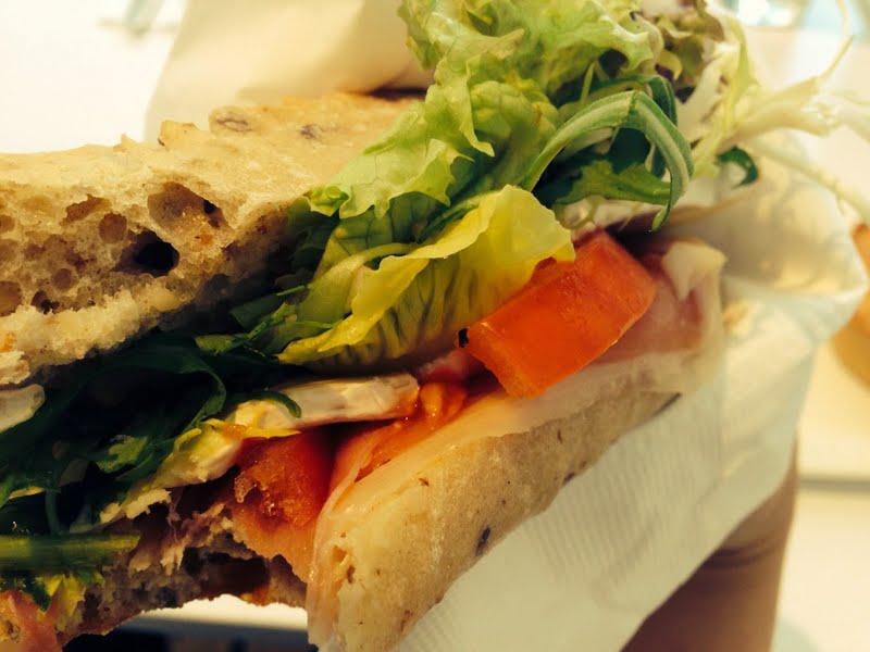 中環 海事博物館 希臘 風情 小島 cafe Cafe 8 三文治 Smoked Salom with Whole-grained bread