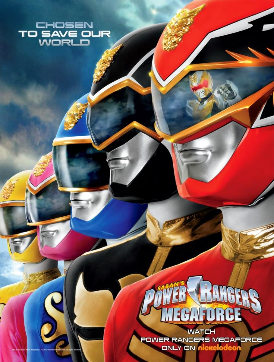 Capitulos de: Power Rangers Megaforce