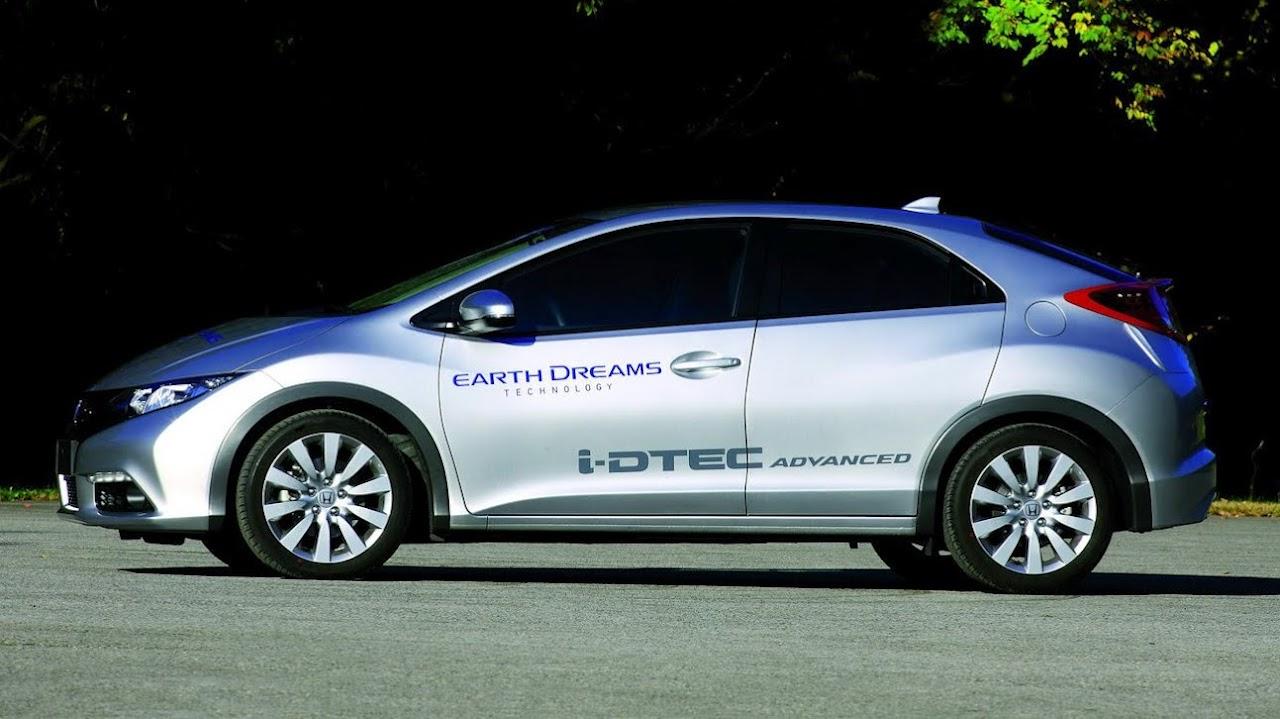 1.6-litre Dizel Motorlu Honda Civic Hatchback Paris'te Tanıtılacak