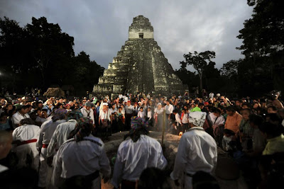 Mayan temple damaged by end-of-world tourists