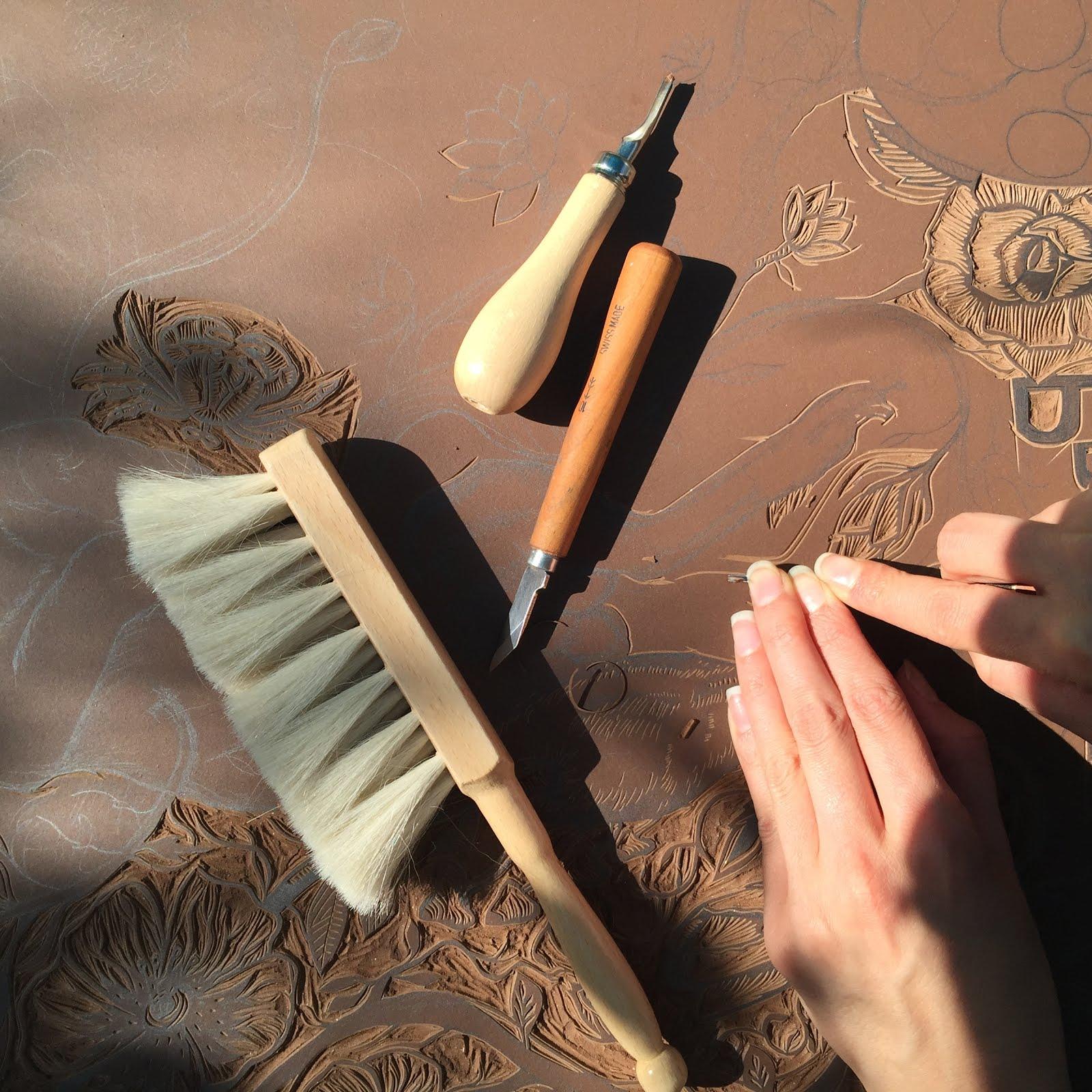 Linogravure en vente