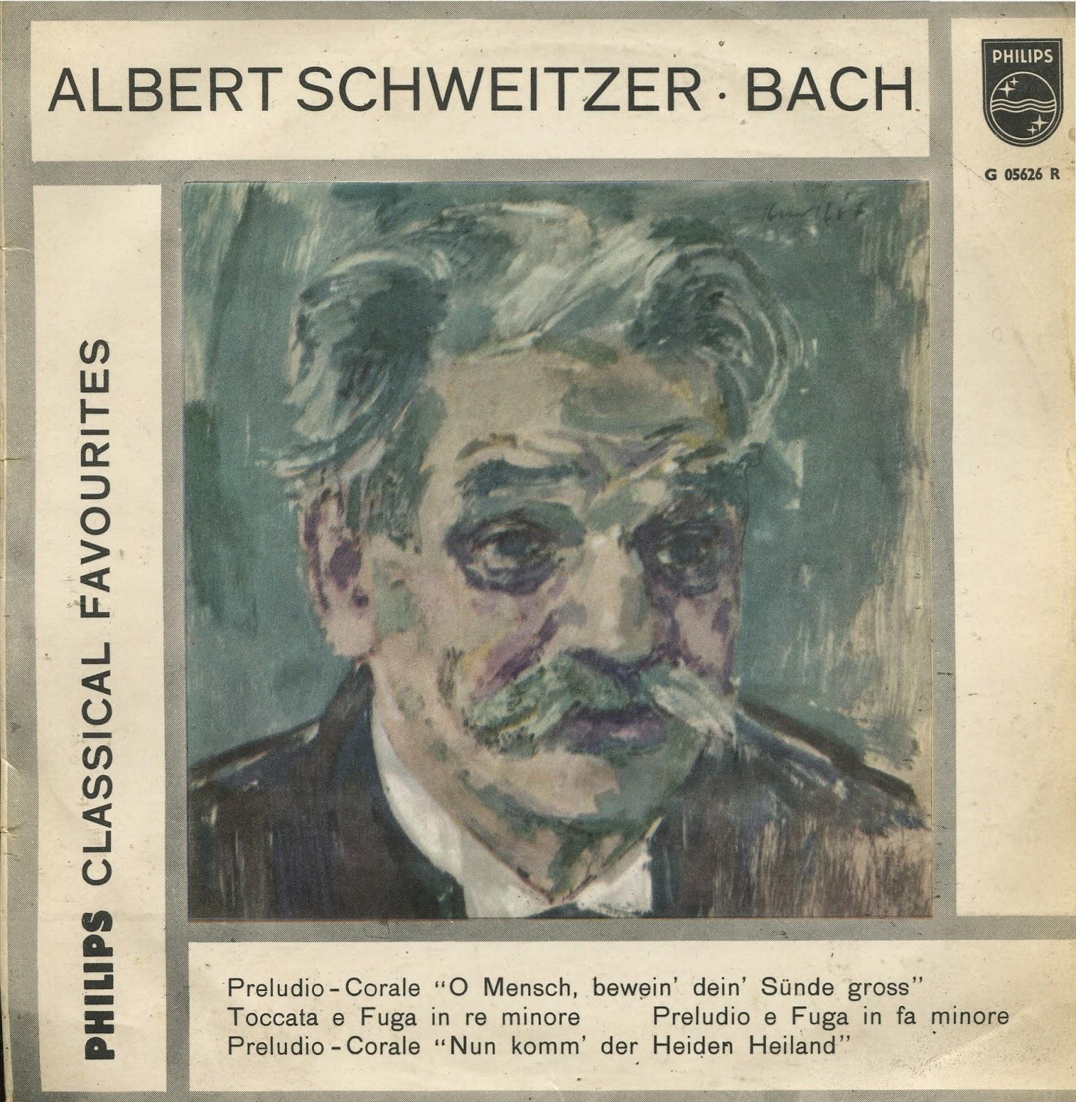 Albert Schweitzer Bach Organ Music Vol. V