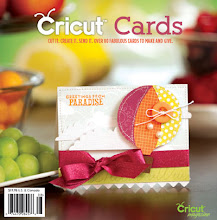 I was published in Cricut Cards Magazine