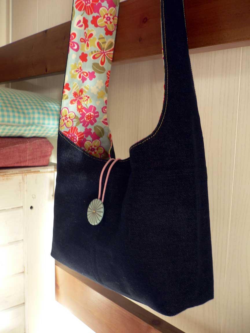 Hilocoqueto bolso de tela - Bolsos de tela hechos en casa ...