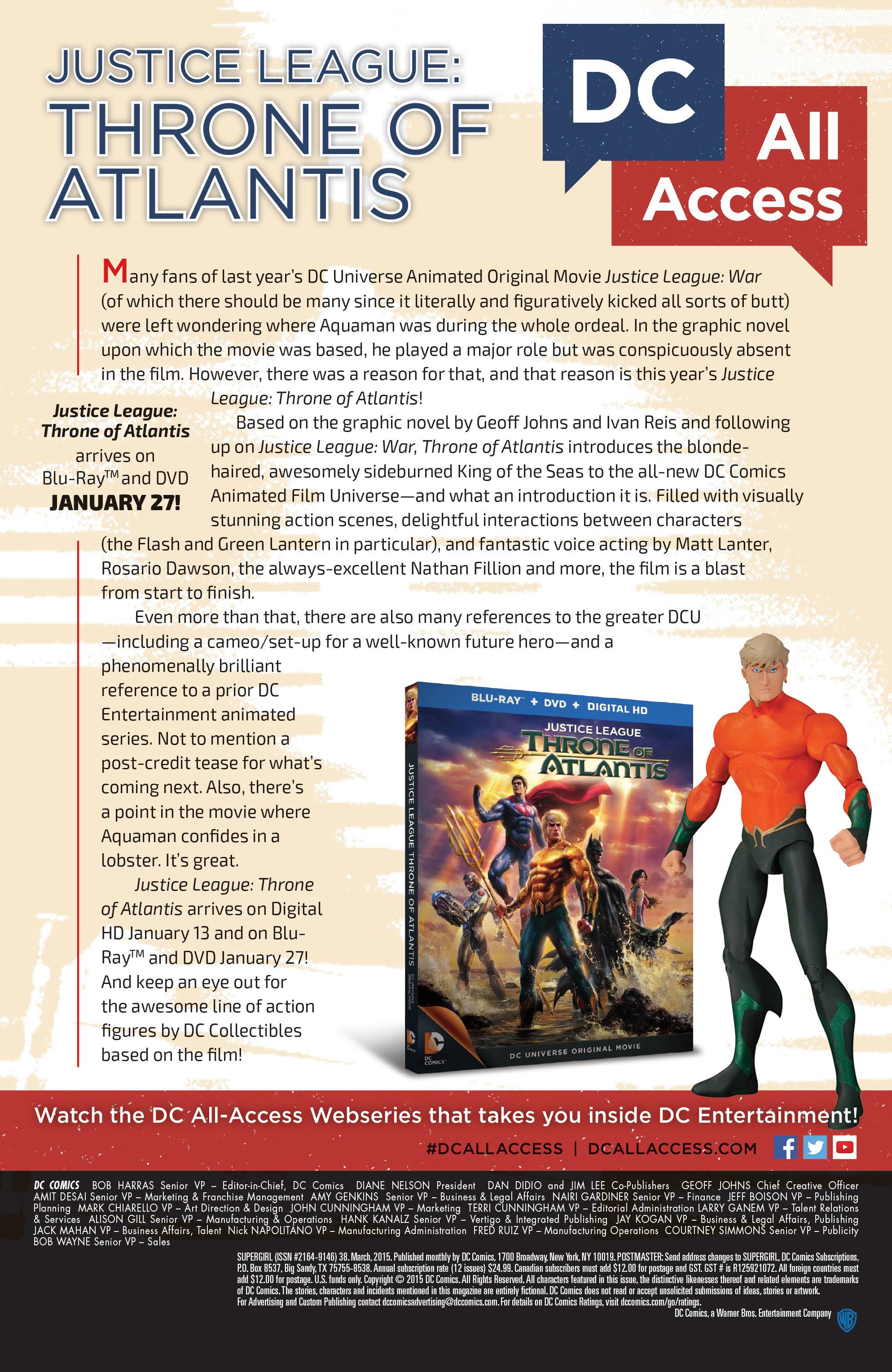 Supergirl (2011) Issue #38 #40 - English 22