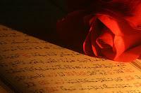 """104- Ey iman edenler, """"Raina-Bizi güt, bize bak"""" demeyin, """"Unzurna-Bizi gözet"""" deyin ve dinleyin. Kâfirler için acıklı bir azab vardır.  105- Kitap Ehlinden olan kafirler ve müşrikler, Rabbinizden üzerinize bir hayrın indirilmesini arzu etmezler. Allah ise, dilediğine rahmetini tahsis eder. Allah büyük fazl sahibidir."""