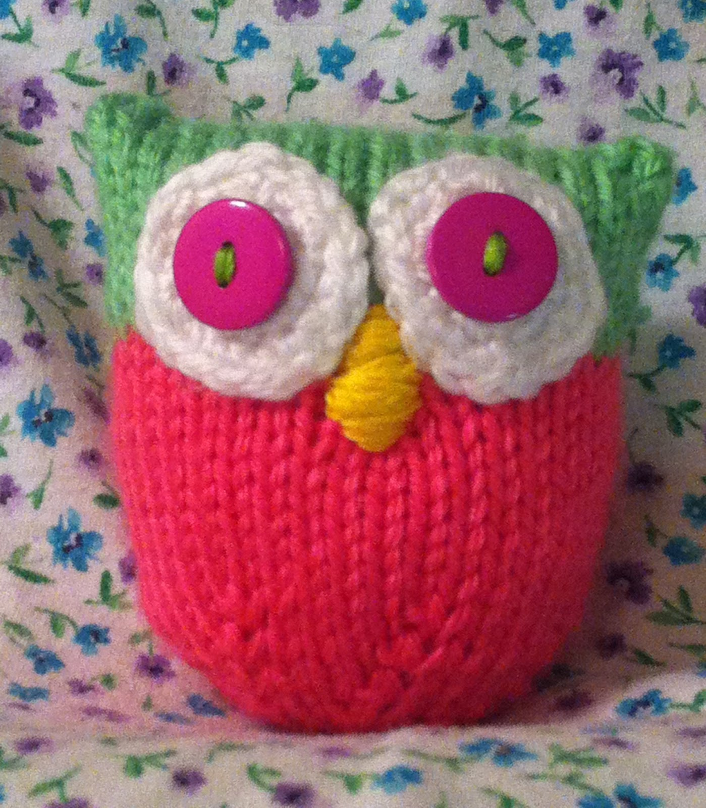 Welcome To Crochet Candi Cute Hand Knit Stuffed Owl Toyl