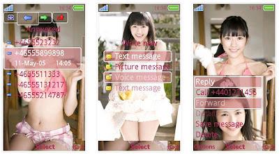 渡邊麻友@AKB48 SonyEricsson手機主題for Aino﹝240x432﹞