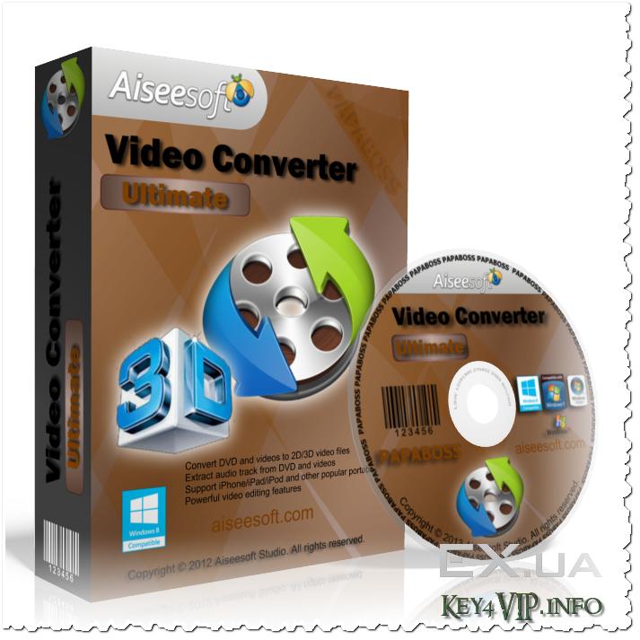 Aiseesoft Video Converter Ultimate v7.2.30 Full,Phần mềm chuyển đổi Audio và Video đa năng