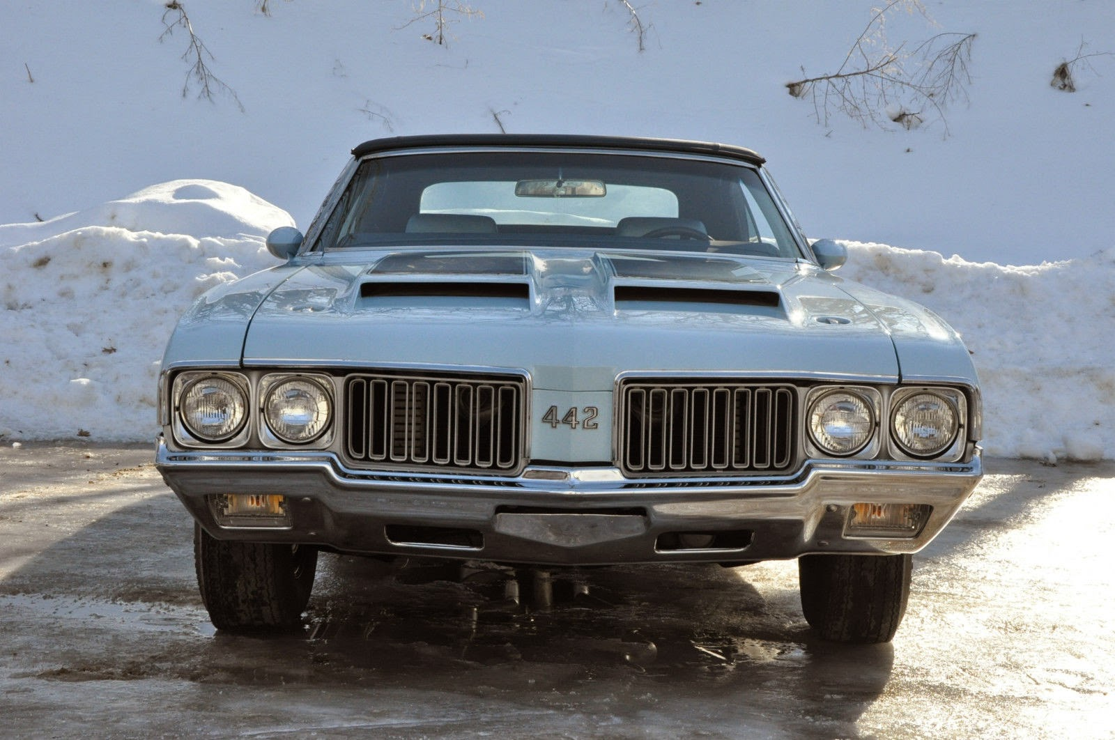 All American Classic Cars: 1970 Oldsmobile 4-4-2 2-Door Convertible