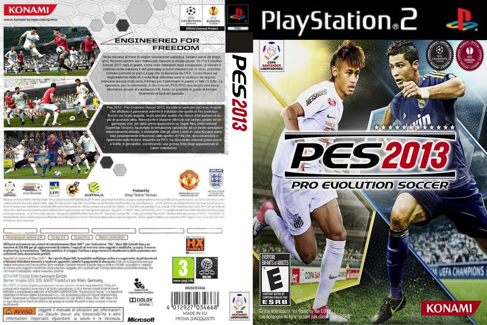 Pro Evolution Soccer 2013 Ps2 MULTI2 PAL
