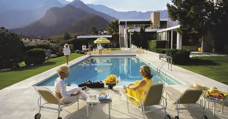 Poolside glamour captured in new palm springs exhibition
