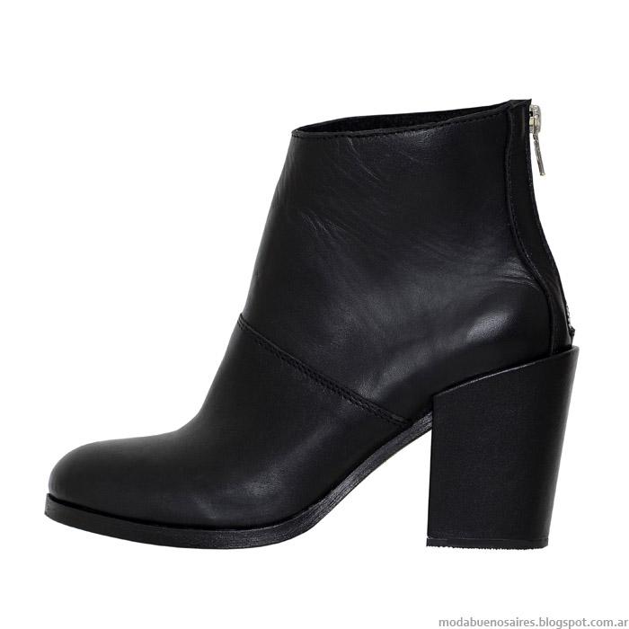 Botas otoño invierno 2015 L'Tau. Moda otoño invierno 2015 zapatos.