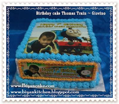 Toko Kue ulang tahun anak di bekasi : Kue lang tahun kereta thomas