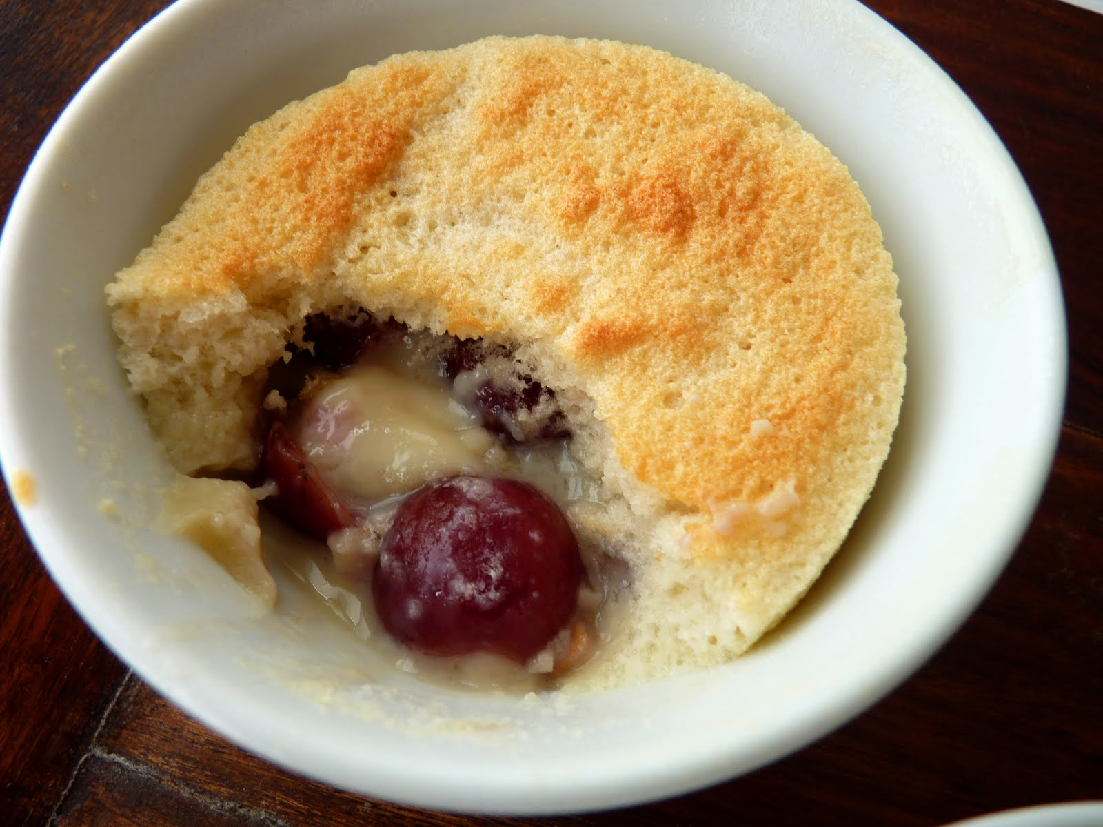 pastry studio: Lemon Cherry Pudding Cakes