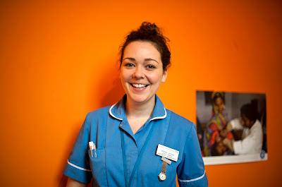Hannah Headden, a nurse and volunteer support worker at Project:London