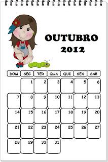 calendario para colocar em sala de aula