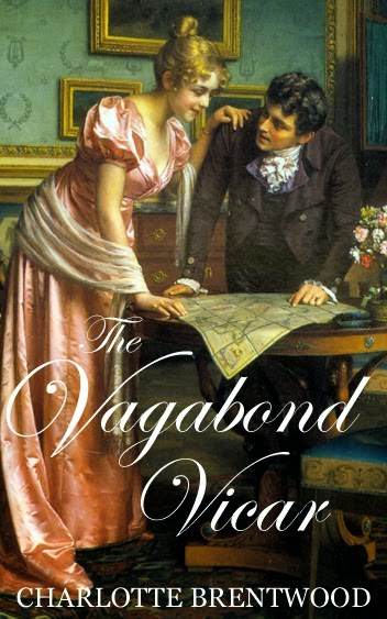 Book Cover - The Vagabond Vicar by Charlotte Brentwood