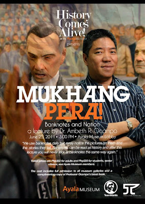 Ambeth Ocampo's Mukhang Pera Lecture at the Ayala Museum