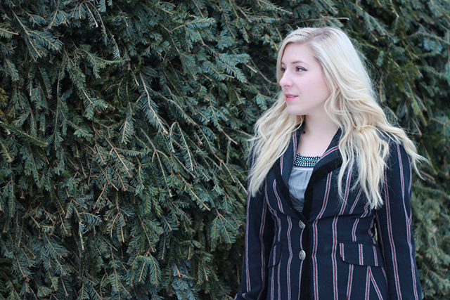 How to wear riding boots - inspiration from a Winnipeg fashion blogger.