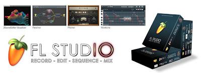 برنامج FL Studio 10.0.9 برنامج فلوريدا الاستوديو لتسجيل وتحرير وإنتاج موسيقى الجودة الفنية