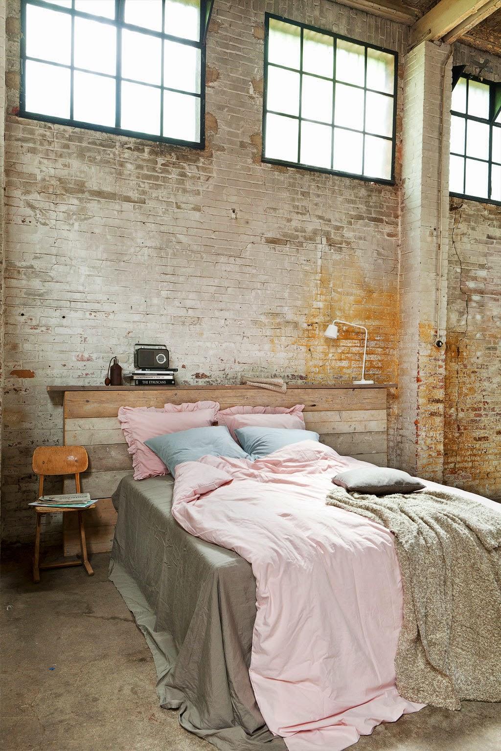 Decoraci n de dormitorios estilo industrial - Habitacion decoracion industrial ...