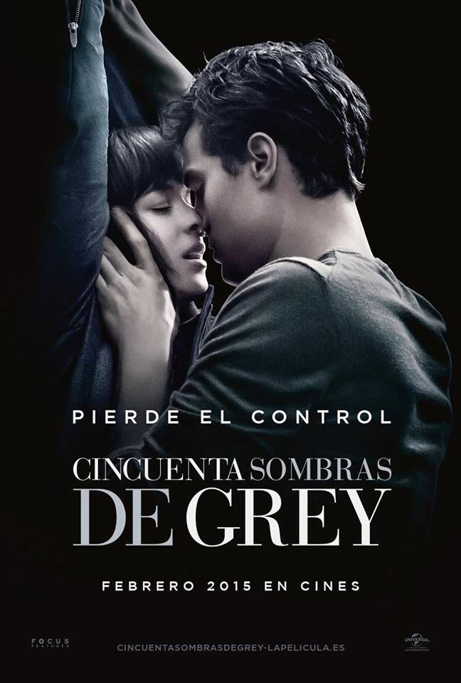 Poster Cincuenta Sombras de Grey fifty shades of grey e.l.james dakota johnson jamie dornan