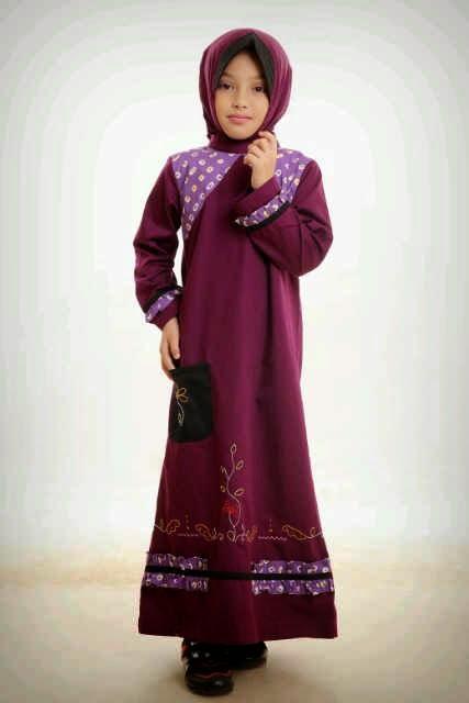Gambar Busana Muslim Anak Cewek