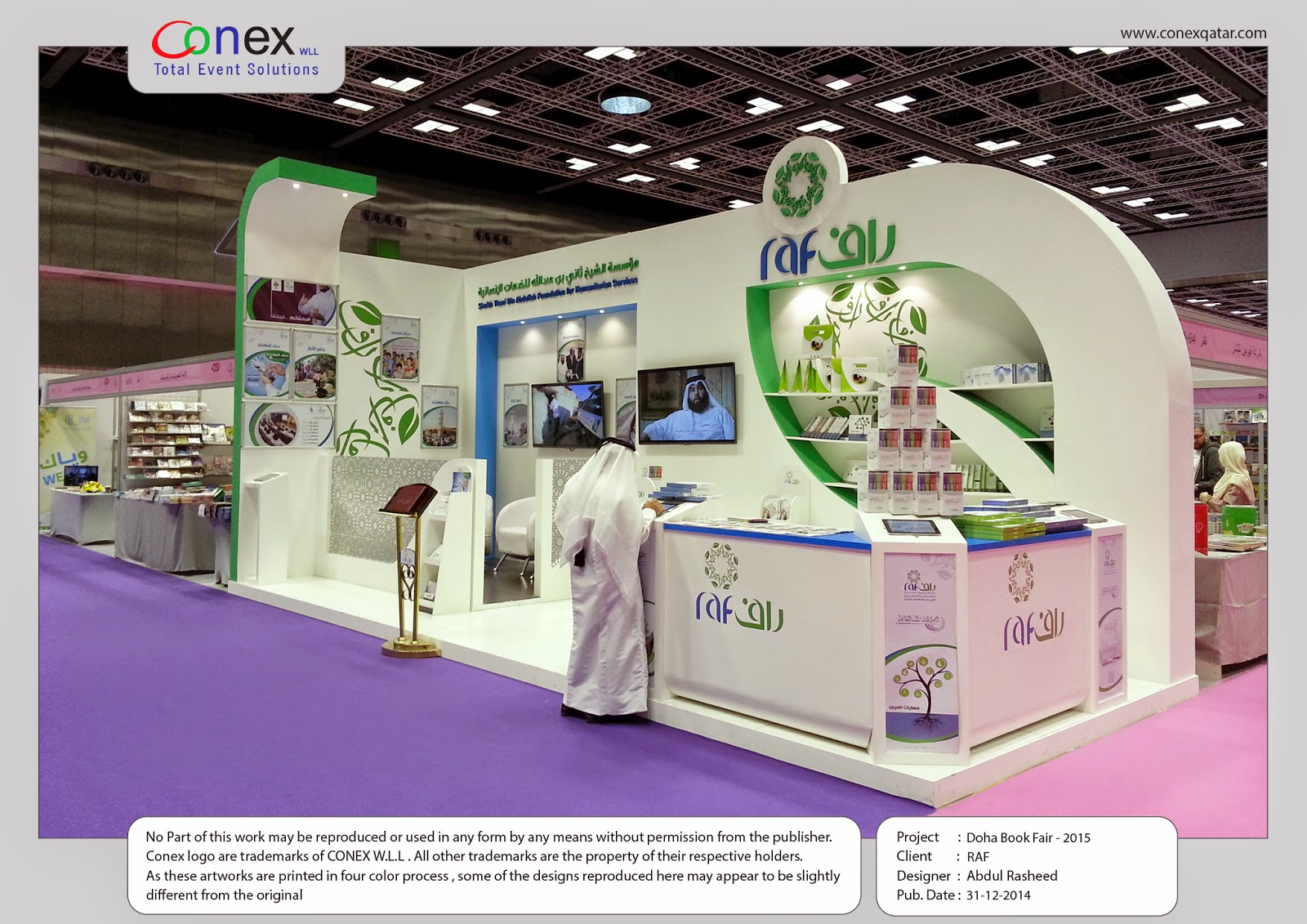 Exhibition Stand Design Books : D designer visualizer events exhibitions interiors