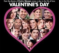 Valentine's Day (Released in 2010) - Too many stars - Starring Jessica Alba, Kathy Bates, Jessica Biel, Patrick Dempsey, Ashton Kutcher, Julia Roberts
