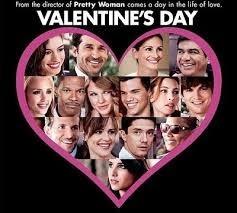 Valentine's Day (Released in 2010) - Too many stars - Starring Jessica Alba, Kathy Bates, Jessica Biel, Patrick Dempsey, Ashton Kutcher, Julia Roberts