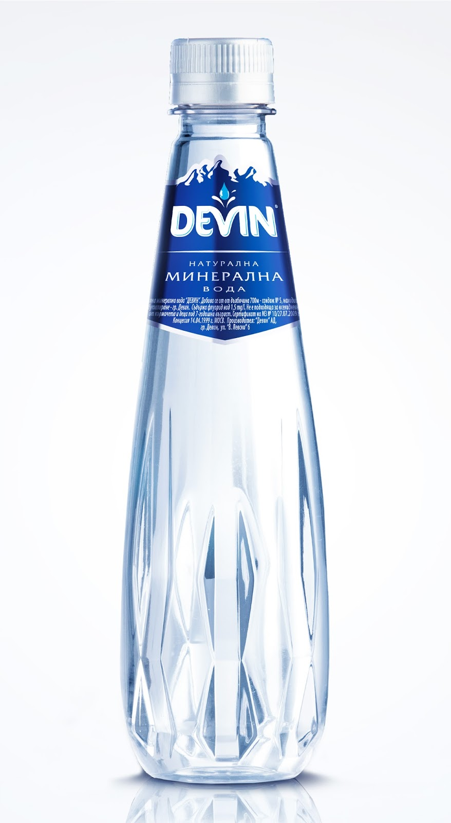 Devin crystal line on packaging of the world creative for Decor water bottle