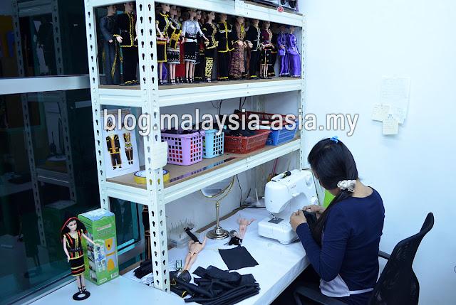 workshop at Chanteek Borneo Gallery