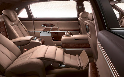 maybach guard back seat lounge