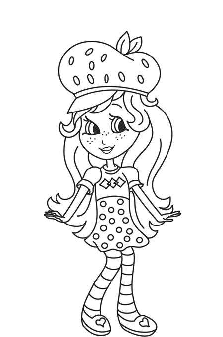 بنت ترتدي قبعة جميلة وتعرض ملابسها بصورة للاطفال